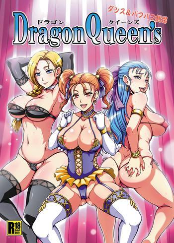 Uncensored Full Color Dragon Queen's- Dragon quest hentai Pranks