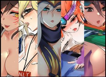 Groping Graffiti collection 2- League of legends hentai Outdoors