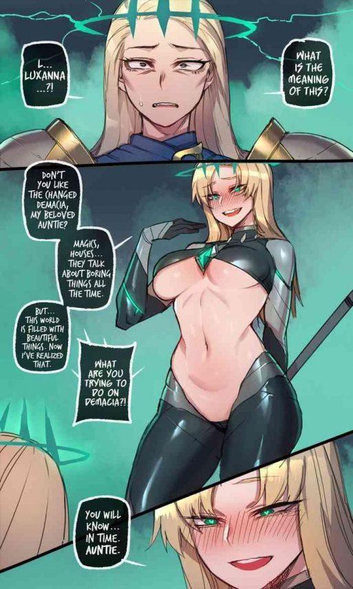 Abuse Runation part 2 by Mr. skull- League of legends hentai Sailor Uniform